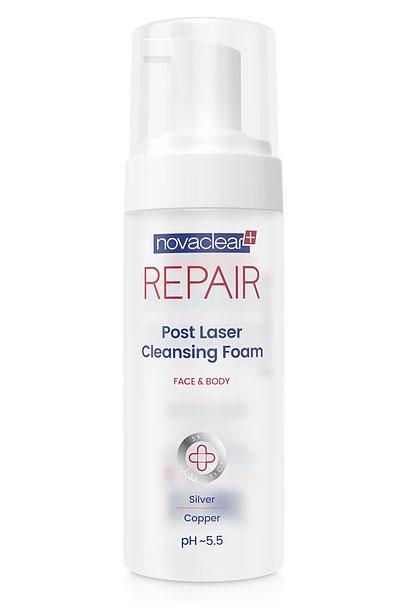 Novaclear-Repair-pianka-do-mycia-po-zabiegach-medycyny-estetycznej---150-ml