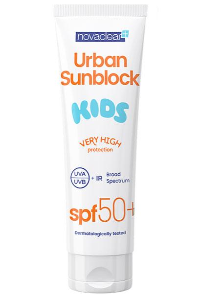 Novaclear-Urban-sunblock-krem-ochronny-spf50+-dla-dzieci---125-ml